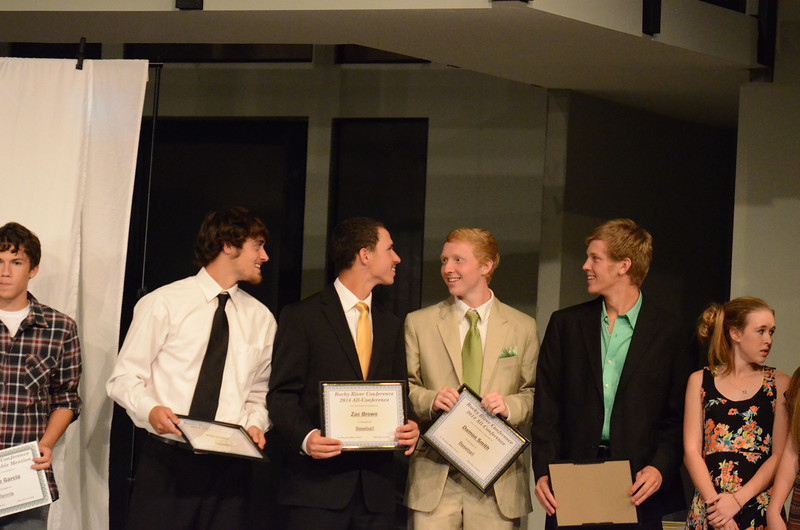 West Stanly 2014 Athletic Banquet