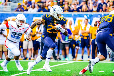 WV RB #25 Juston Crawford