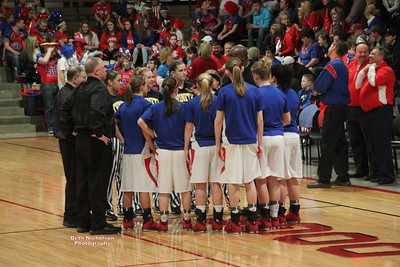 WW 2014 Lady Senators Sectional vs Trinity Luth.