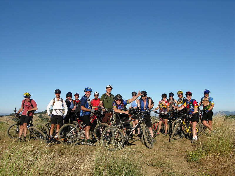 The whole gang<br /> Russian Ridge<br /> June 17, 2008