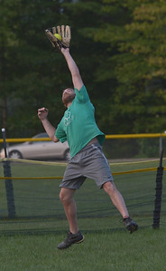 Will White makes a leaping catch for Maine-ly Pawn. (Paula Roberts photo)