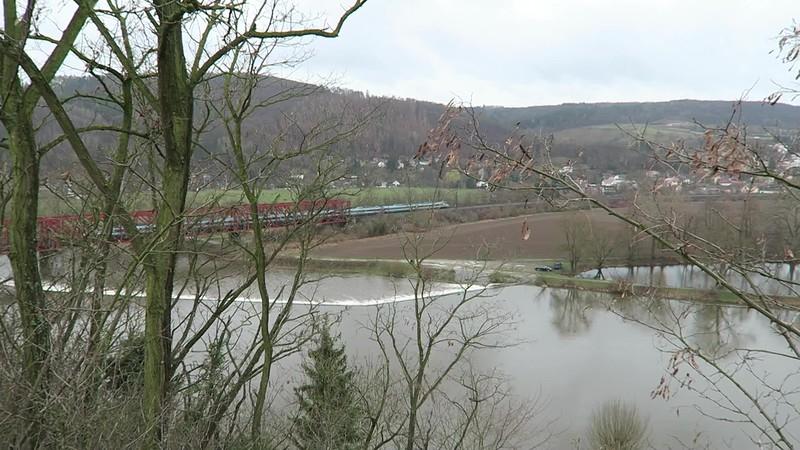 Turbanské Černošice 2019 - pohled na Pendolino směřující do Plzně