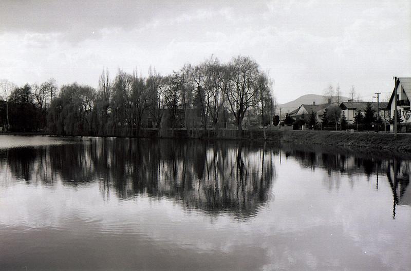 rybník v Úštěku
