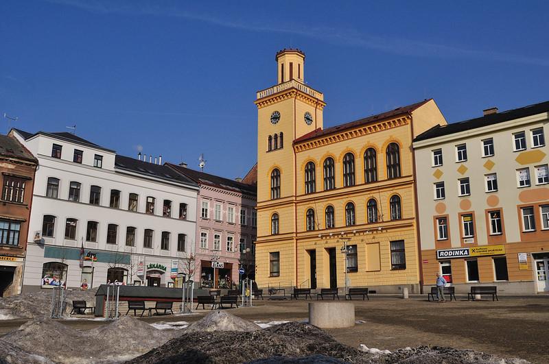 stará radnice na dolním náměstí v Jablonci nad Nisou