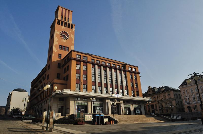 nová radnice na horním náměstí v Jablonci nad Nisou