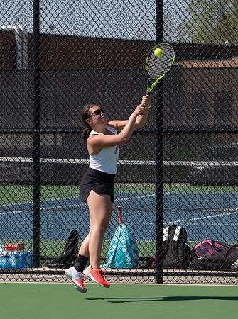 WLN Womens Tennis May 8, 2018