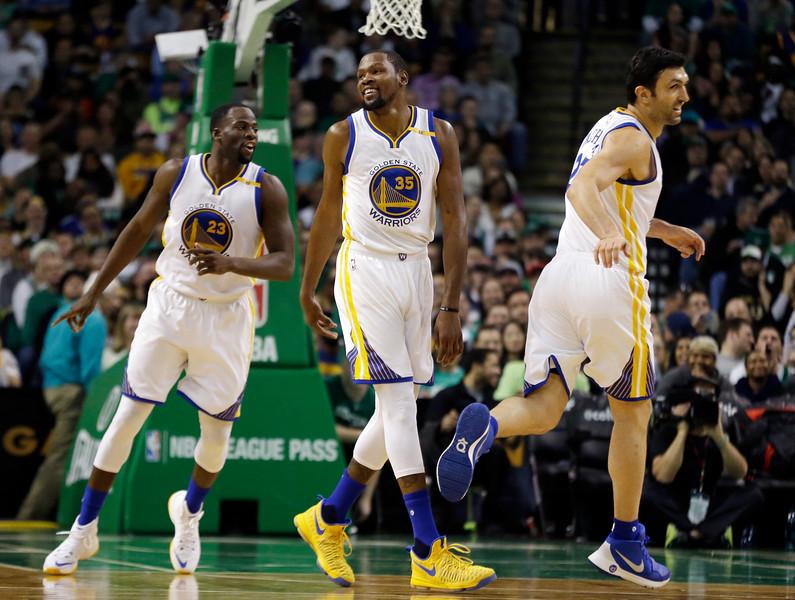 Warriors Celtics Basketball