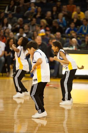 Warriors vs Nets for Ultimate Cheerleaders 2/22/2014
