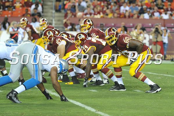 Pre-Season Detroit Lions vs Washington Redskins 8.21.15