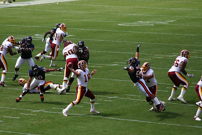 Washington Redskins vs Bears 2005