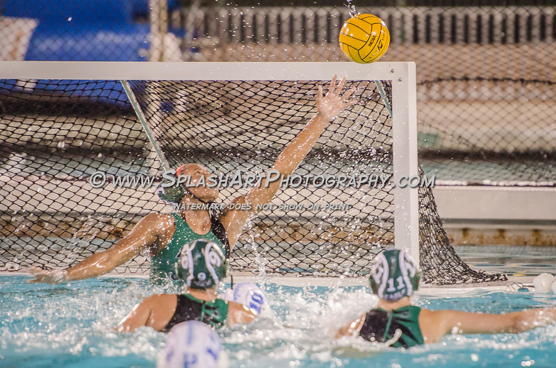 2015 Eagle Rock Girls Water Polo vs Palisades Dolphins