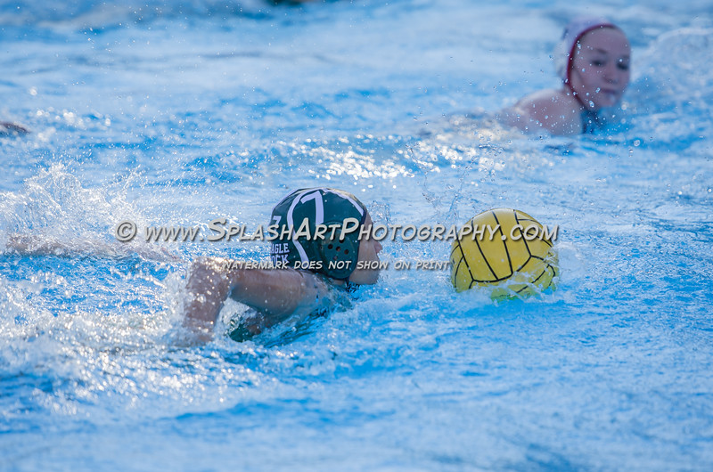 2015 Eagle Rock Girls Water Polo vs Verdugo Hills Dons