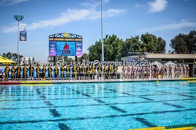 2016 Water Polo CSUN Matadors vs CSULB 03Apr2016