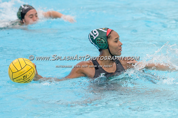 2017 Eagle Rock Girls Water Polo vs Verdugo Hills Dons