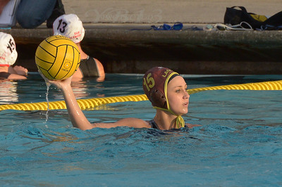 LADY HAWKS vs LADY TRITONS WATER POLO 1-24-13