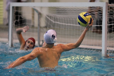 6J0E7678 copy The Goal   Carleton Ravens put it to MacMaster in league water polo.