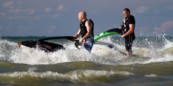 Cleveland Freeride Jetskiers<br /> John Shanahan and Rich Robertson