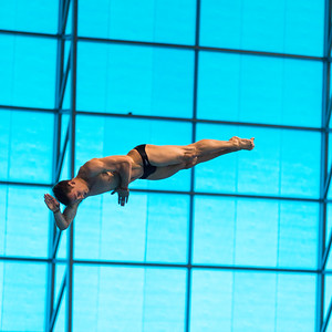 LEN European Aquatics Championships Day 7: Men's 10m Platform Final, London, UK