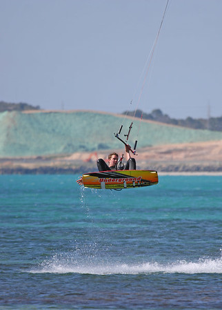 Kite Surfing at Woodmans Point 02-10-2006