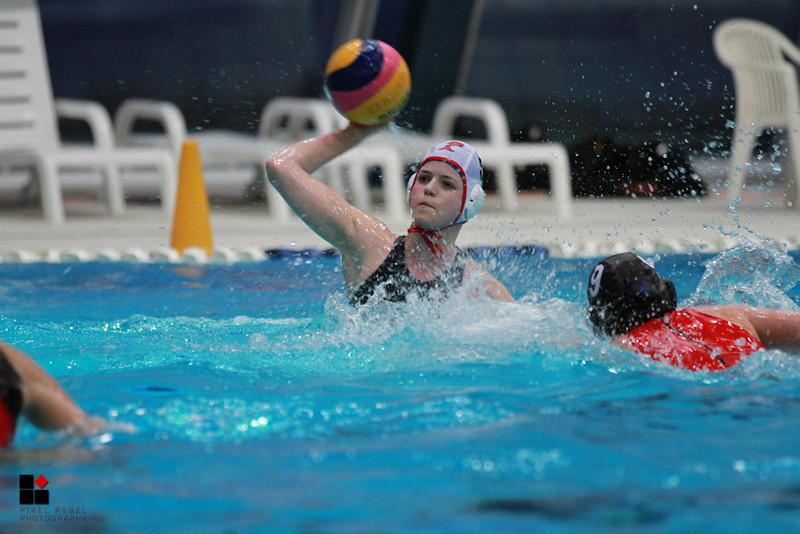 1/4 de finale coupe suisse de water polo féminin 2013. Red Fish - Winthertur II