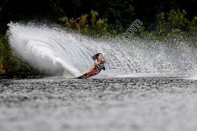 Alexandra (Ali) Garcia - Malibu Open Slalom skiing