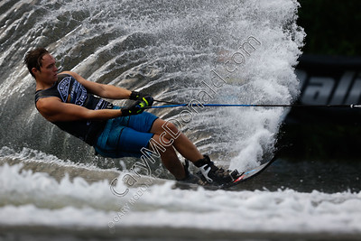 Malibu Open Slalom skiing