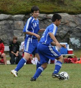 Waterford Varsity Soccer V. NFA, 9/13/08 (L 0-3)
