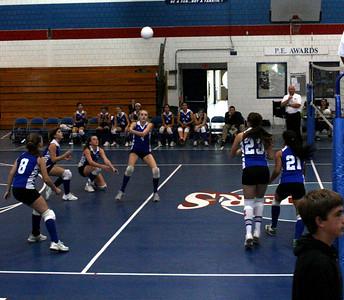 JV Volleyball V. Woodstock, 10/08/08 (W 2-0)