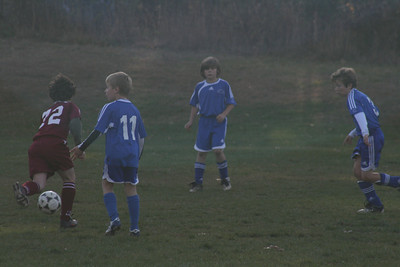 Waterford u10 V. East Lyme, 11/02/08 (W3-2)