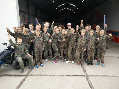 Eindfeest paintball