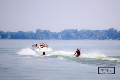 Waterskiing on Lake Mendota  © Copyright m2 Photography - Michael J. Mikkelson 2009. All Rights Reserved. Images can not be used without permission.