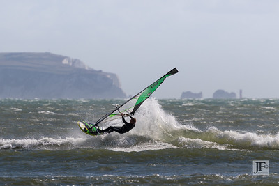 Windsurfing, Avon Beach