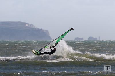 Windsurfing, Avon Beach