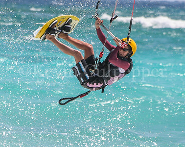 Barbados Waterman Festival 2010 - Kite Surfing