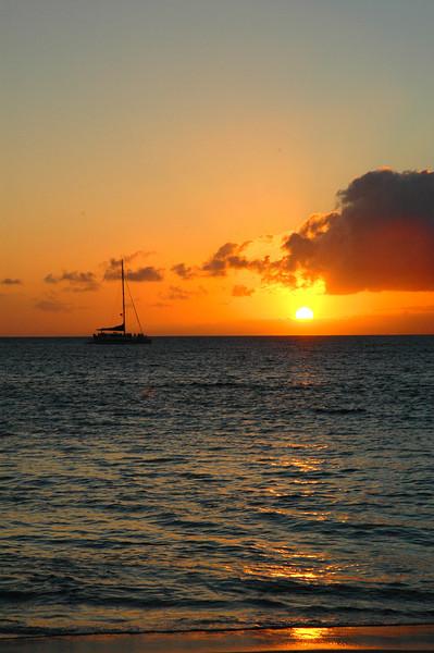 Docking at Lahaina, Maui