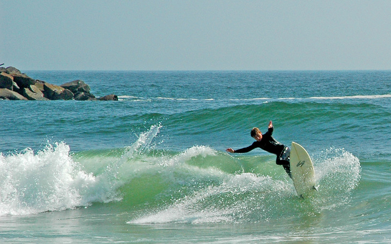 Shredding at Silver Strand