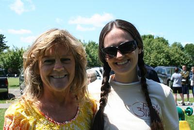 Race Directors Leslie Thomas, and her daughter, Danielle Bergum.