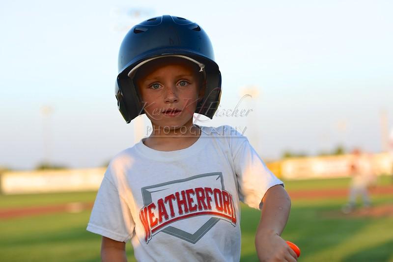 Weatherford White Baseball