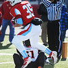 Webb City's Tyler Davison scores a touchdown against Cape Girardeau's TJ Pearson during the Semi-Final Saturday afternoon, Nov. 23, 2013, at Webb City.<br /> Globe | T. Rob Brown