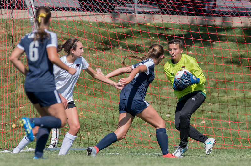 Weber High School outshines Bonnieville 1-0 during the girls prep soccer game on Tuesday August 15, 2017 in Pleasant View.