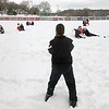 West softball snow 4
