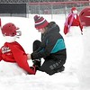 West softball in the snow 3