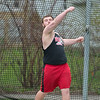 Mankato West's ?? competes in the discus throw on Tuesday. ?? took first place with a throw of ??. Photo by Jackson Forderer