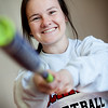 West Softball player Maddie Otmarr