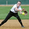 Mankato East softball's Kayla Fingerson