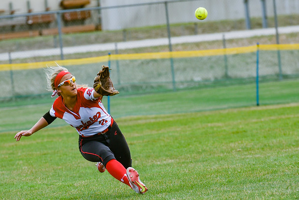 Mankato West vs New Prague Softball 2