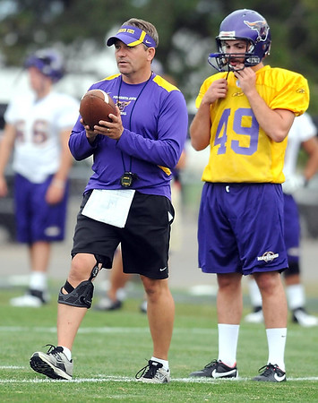 Minnesota State head football coach Todd Hoffner was put on administrative leave by the university this week.