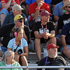 Pat Christman <br /> A group of NHRA fans from Mankato watch one of the qualifying rounds of the Lucas Oil NHRA Nationals Friday in Brainerd. Some of the group has been attending the event for more than 20 years.
