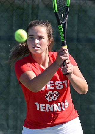 West girls tennis preview 2
