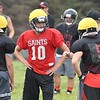 St. James football practice